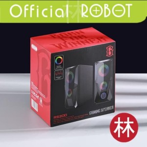 Harga speaker aktif robot rs200 stereo gaming 3 5mm aux with 2 chanel   HARGALOKA.COM