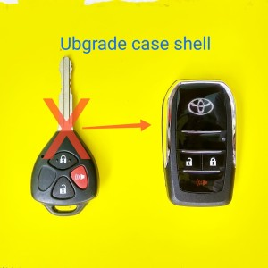 Info Casing Kunci Lipat Flip Key 2 Tombol Mobil Toyota Innova Vios Dll Flipkey Katalog.or.id