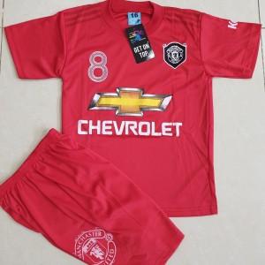 Harga baju bola anak setelan bola anak mu merah size | HARGALOKA.COM