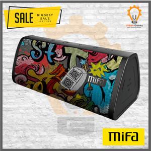 Harga speaker xiaomi mifa a10 portable bluetooth wireless stereo original   hitam | HARGALOKA.COM