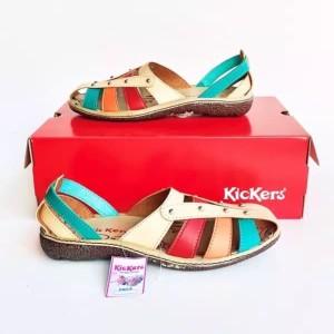 Harga sepatu kickers wanita sandal kickers wanita rainbow kode 028   kombinasi | HARGALOKA.COM
