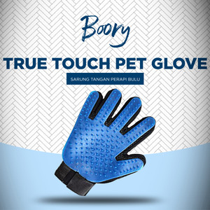 Harga Sarung Tangan Grooming De Shedding Gloves True Touch Katalog.or.id