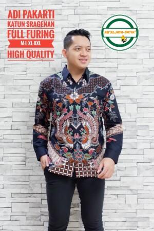 Harga adi pakarti kemeja batik pria panjang full furing by   HARGALOKA.COM