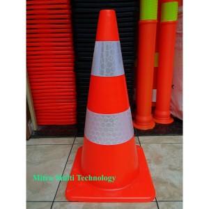 Katalog Khusus Gojek Instant Courier Traffic Cone Dasar Orange 70 Cm Premium Katalog.or.id