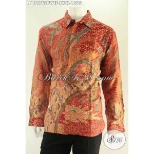 Harga baju batik tulis pria gemuk size xxxl panjang bahan sutra | HARGALOKA.COM