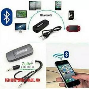 Harga bluetooth audio reciver usb   kabel aux | HARGALOKA.COM