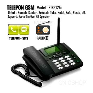 Harga telepon gsm untuk rumah kantor support kartu all operator gsm   | HARGALOKA.COM