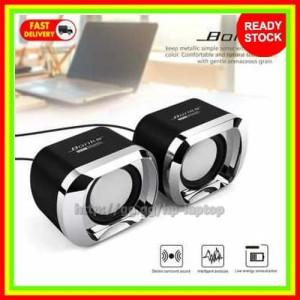 Harga bonks multimedia speaker stereo 2 0 3w s eaker pc komputer | HARGALOKA.COM