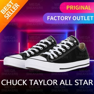 Harga converse all star 70s shoes black man and women low classic   | HARGALOKA.COM
