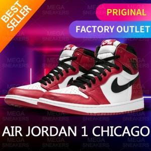 Harga nike jordan 1 retro chicago original sneakers   | HARGALOKA.COM