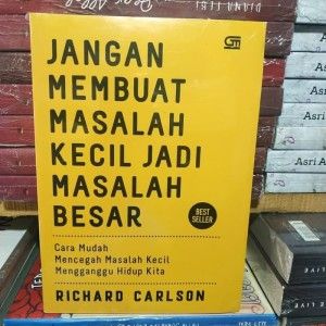 Harga buku jangan membuat masalah kecil jadi masalah | HARGALOKA.COM