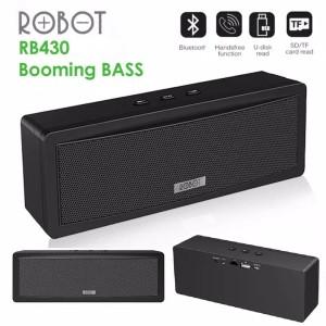 Harga speaker bluetooth robot rb430 booming | HARGALOKA.COM