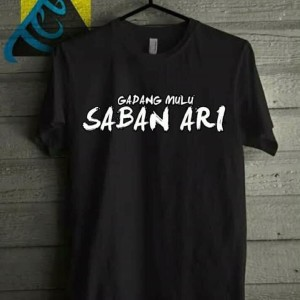 Harga terlaris baju kaos t shirt betawi begadang saban | HARGALOKA.COM