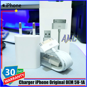 Harga charger iphone 4 4s 4g 3gs ipad 1 2 3 ipod itoch apple | HARGALOKA.COM