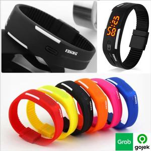 Harga jam tangan gelang led digital sport pria wanita skmei olahraga     HARGALOKA.COM