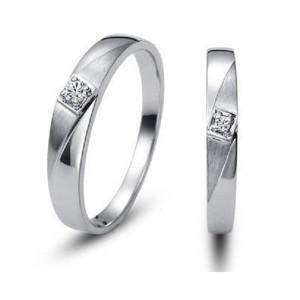 Harga cincin kawin nikah tunangan couple emas putih 25 dan perak req | HARGALOKA.COM
