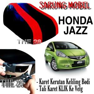 Harga sarung mobil honda jazz ge strip merah body cover penutup jazz ge8 | HARGALOKA.COM