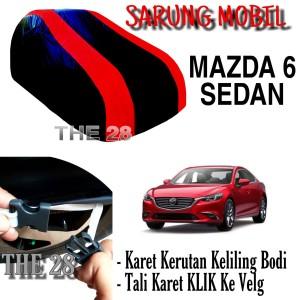 Harga sarung mobil mazda 6 sedan strip merah body cover penutup mazda6 | HARGALOKA.COM
