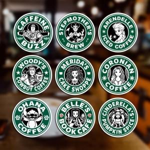 Harga stiker sticker starbuck parody untuk laptop mobil koper | HARGALOKA.COM