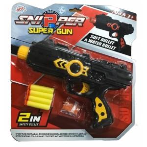 Harga sniper super gun 2 in 1   tembakan peluru busa dan peluru | HARGALOKA.COM