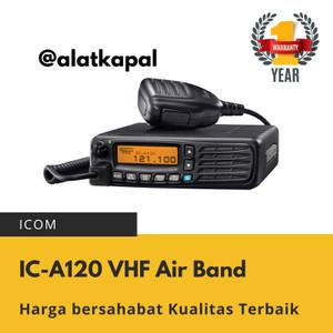 Harga icom ic  a120   vhf air band transceiver aviation radio harga | HARGALOKA.COM