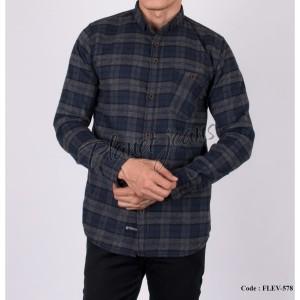 Harga new kemeja lengan panjang flanel garment pria flannel cowok | HARGALOKA.COM