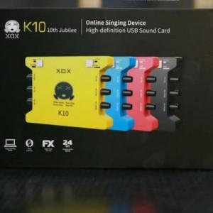 Harga sound card eksternal xox ks108 karaoke recording record audio mic | HARGALOKA.COM