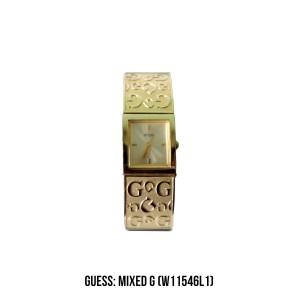 Harga jam guess mixed g gold | HARGALOKA.COM