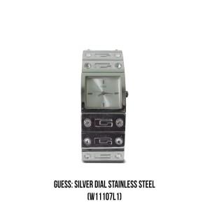 Harga jam guess quartz silver dial | HARGALOKA.COM
