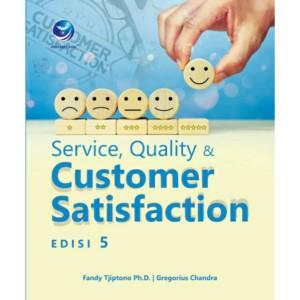 Harga buku service quality dan customer satisfaction edisi | HARGALOKA.COM