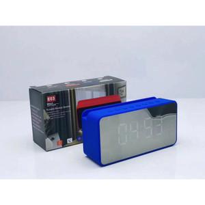 Harga ready speaker jam led e03 bluetooth time clock alarm fm radio usb au   | HARGALOKA.COM