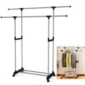 Harga stand hanger double sisi x25  hanger serbaguna 4 | HARGALOKA.COM