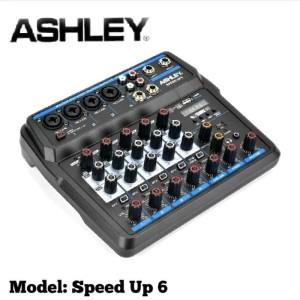 Harga mixer ashley speed up 6 original 6 channel bluetooth   usb | HARGALOKA.COM