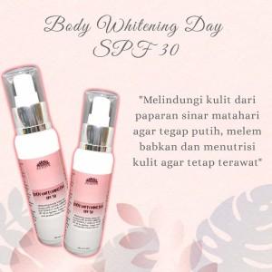 Harga body whitening siang spf 30 pemutih badan handbody   HARGALOKA.COM