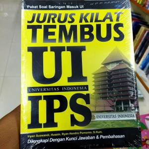 Harga paket soal masuk ui universitas indonesia jurus kilat tembus ui | HARGALOKA.COM