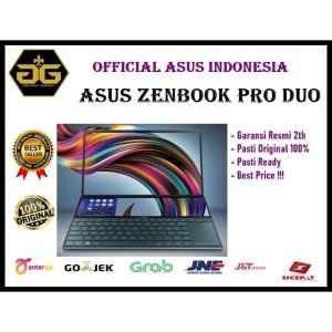 Harga asus zenbook pro duo ux581gv h2036t i7 9750h 32gb 1tb ssd rtx2060 | HARGALOKA.COM