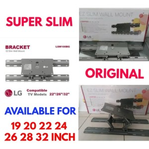 Harga bracket tv 32 29 28 26 24 22 20 inch original lg made in korea   HARGALOKA.COM