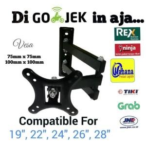Harga bracket lengan led tv lcd 20 34 22 34 24 34 26 34 28 34 harga   HARGALOKA.COM