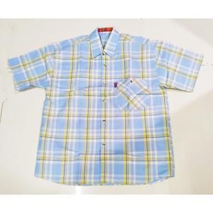 Harga 781 786 15 19 tahun kemeja baju atasan hem pendek anak cowo pria   cokelat   HARGALOKA.COM