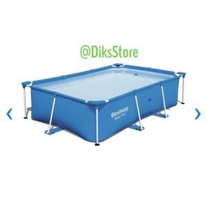 Harga bestway kolam renang frame square 259x170x61 | HARGALOKA.COM
