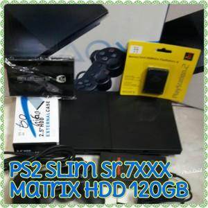 Harga ps2 slim sr 7 matrix hdd | HARGALOKA.COM