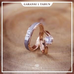 Harga cincin kawin couple lamaran tunangan bahan perak free ukir | HARGALOKA.COM