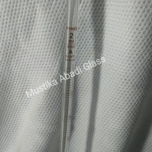 Harga measuring pippete   pipet ukur 2ml   2 ml pyrex class a skala   HARGALOKA.COM