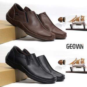 Harga sepatu pantofel pria formal kulit asli geovani s   p04   cokelat | HARGALOKA.COM