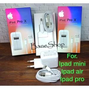 Harga charger ipad mini 1 2 3 4 ipad air ipad pro 12w top | HARGALOKA.COM
