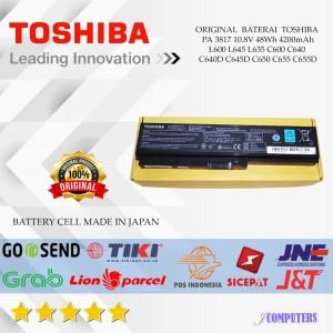 Harga original baterai toshiba satellite c640 c600 l745 l600 l635 l640 | HARGALOKA.COM