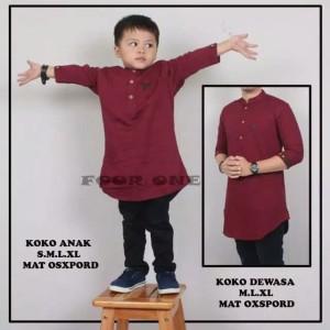 Harga koko kurta pakistan anak 1 12 tahun premium baju koko couple maroon     HARGALOKA.COM