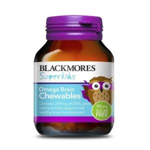 Harga blackmores blackmore superkids kids omega brain chewables chewable | HARGALOKA.COM