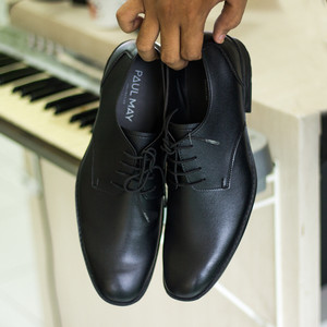 Harga paulmay sepatu formal pria venesia 21   hitam | HARGALOKA.COM