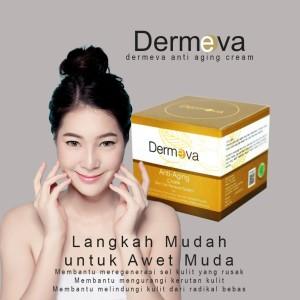 Harga serum untuk kulit muka kering skincare anti aging dermeva   HARGALOKA.COM
